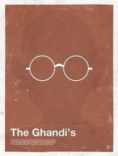 Moxy Creative Posters framework-ghandi_moxy-creative-posters – TrendLand: Fashion Blog & Trend Magazine #glasses #illustration #framework #ghandi #poster