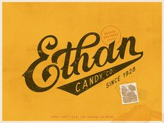 Brooks Brothers Typeface #logo #vintage #candy #typeface #font #lettering