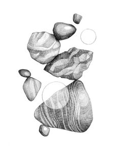 In/Organic on Behance #abstract #form #conceptual #illustration #pencil