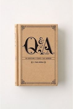 Q&A #design #graphic #book #typography