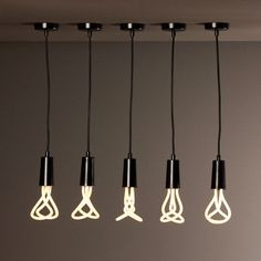 Plumen is a line of energy efficient lightbulbs that are meant to be seen, not hidden. They are beautiful designer lightbulbs that use 11 wa #bulb #modern #lifestyle #design #product #industrial #light #style