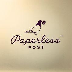 Paperless Post #fili #louise #script #logo #typography