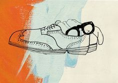 Sketches : Lilit Asiryan #brogues #sketch