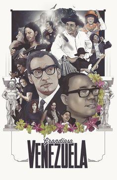 Grandiosa Venezuela on Behance #print #art #poster #venezuela #typography