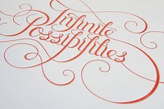 Eight Hour Day » Infinite Possibilities Print #illustration #typography