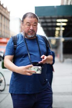 Ai Wei Wei, New York   The Sartorialist