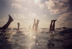 Summer swimming #photography