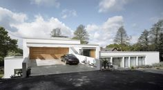 Two Rectangular Volumes Set at Different Levels: House 780 in Manchester #architecture