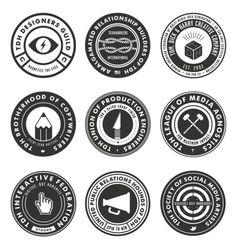 TDH_badges_800.png (749×792) #creative #mcquade #mike #dickharry #co #tom