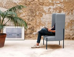 Ara Armchair by PerezOchando - #design, #furniture, #modernfurniture,