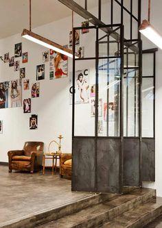 door #furniture #interior #concrete #door #salon