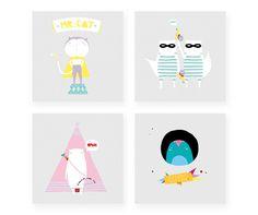 Pasen y vean mariadiamantes #naf #illustration #design #animals
