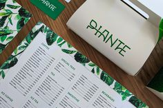 PIANTE - cafe branding on Behance