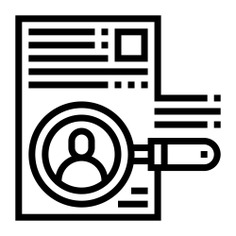 See more icon inspiration related to portfolio, curriculum, files and folders, business and finance, seo and web, curriculum vitae, personal profile, resume, interface, business and application on Flaticon.