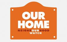 NB: Neighbourhood Watch #signage #typography