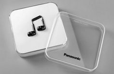 More Imaginative Package Designs - DESIGN.inc Blog #packaging #panasonic #music #earphones