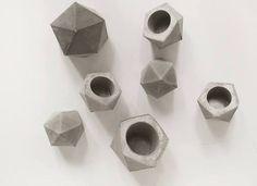 concrete planter / FrauKlarer #concrete #frauklarer #planter #geometric #minimalist #concreteplanter