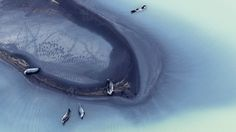 Abstract Nordic Landscapes From Above by Zack Seckler