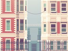 Call Me (Maeby) #justin #city #illustration #mezelle #communication #buildings