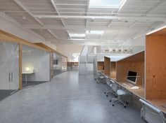edward ogosta architecture: hybrid office #office