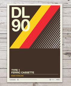 adec542ca6369b637a1b57cccd8b4b7f #cassette #stevens #neil #print #illustration #poster #type #colour
