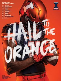 2017 Fighting Illini Football Creative