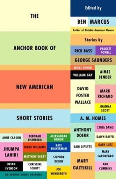 The Anchor Book of New American Short Stories #book cover