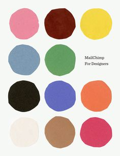 mailchimp, circle, color, dots