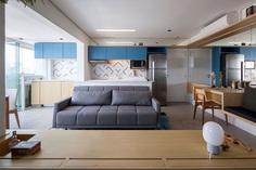 Small Studio Apartment by Estudio BRA - InteriorZine
