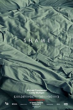 First 'Shame' Poster Is Haunting, Even Without Michael Fassbender | Hollywood.com #shame #font #movie #steve #serif #design #graphic #sans #mcqueen #poster