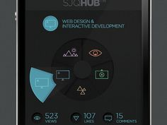 SJQHUB™ Visual Data on Behance #hub #iconset #ux #infographics #icons #ui #iphone #info #studio #studiojq #graphics #colour