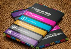 Business Cards #design #graphic
