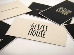 Catherine Bourdon #graphic design #identity #catherine bourdon #the glass house