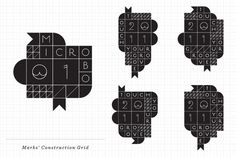 Groovewear Identity and Packaging www.latigre.net #modular #latigre