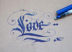 Practice #calligraphy #lettering #fraktur #gothic #handtype #logo