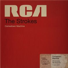 The Strokes - Comedown Machine #album art #the strokes