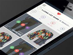 Mobile app design by Mariusz Ciesla #mobile #ciesla #mariusz