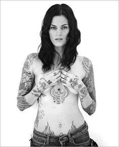Timo Ulises: Everything Advertising #girl #tatoo
