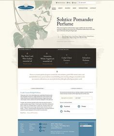 Ryan vs. Clark | Design & Illustration › White Lotus Aromatics