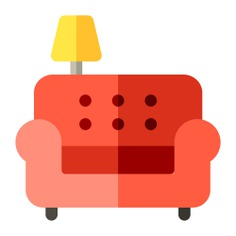 See more icon inspiration related to couch, sofa, lamp, relax, rest and furniture and household on Flaticon.