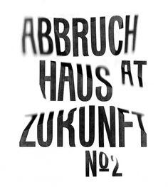 Nothing Relevant #focus #blur #zukunft #warped #typography