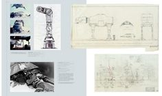 Architecture Photography: Blueprints of the Star Wars Galaxy - Blueprints of the Star Wars Galaxy (3) (164031) - ArchDaily #star wars #drawi