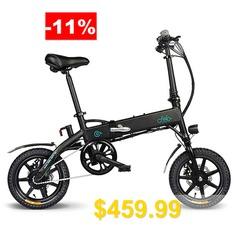 FIIDO #D1 #Folding #Electric #Bike #EU #10.4Ah # #14 #x #2.125 #inch # #Tire #size