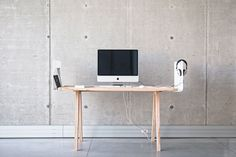 Worknest by Wiktoria Lenart #minimalist #design #desk #minimal