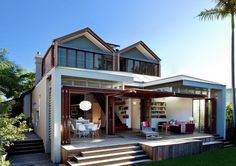 Australian Residence Engaging with the Backyard by Anderson Architecture