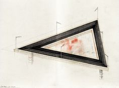 Carlos Ancalmo #triangle #sketch #art