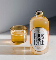 bottle, drink, kombucha, design, fancy