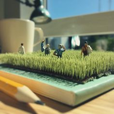 Derrick Lin Recreates His Office Life With Miniature Figures