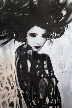 """Dark Dancer"" by Hush #illustration #inspiration #dark #dancer"