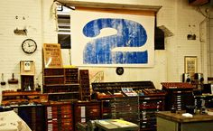 Hamilton Wood Type museum www.mr cup.com #work #letterpress #typography